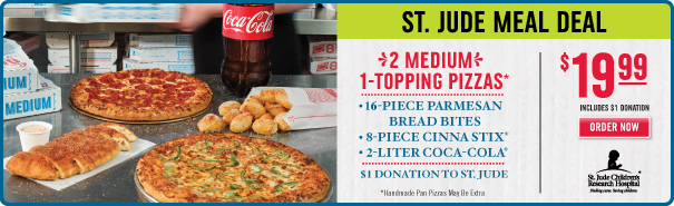 Domino's Pizza's latest promotion is their $5 Carryout Lunch Deal which available until 2pm daily and features your choice of an order of Penne Pasta, a small 2-Topping Pizza, or an Oven Baked Sandwich for $5. Considering you only end up saving around $1 from the regular price (in case of the Three.