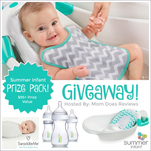this baby giveaway is sponsored by summer infant and hosted by mom