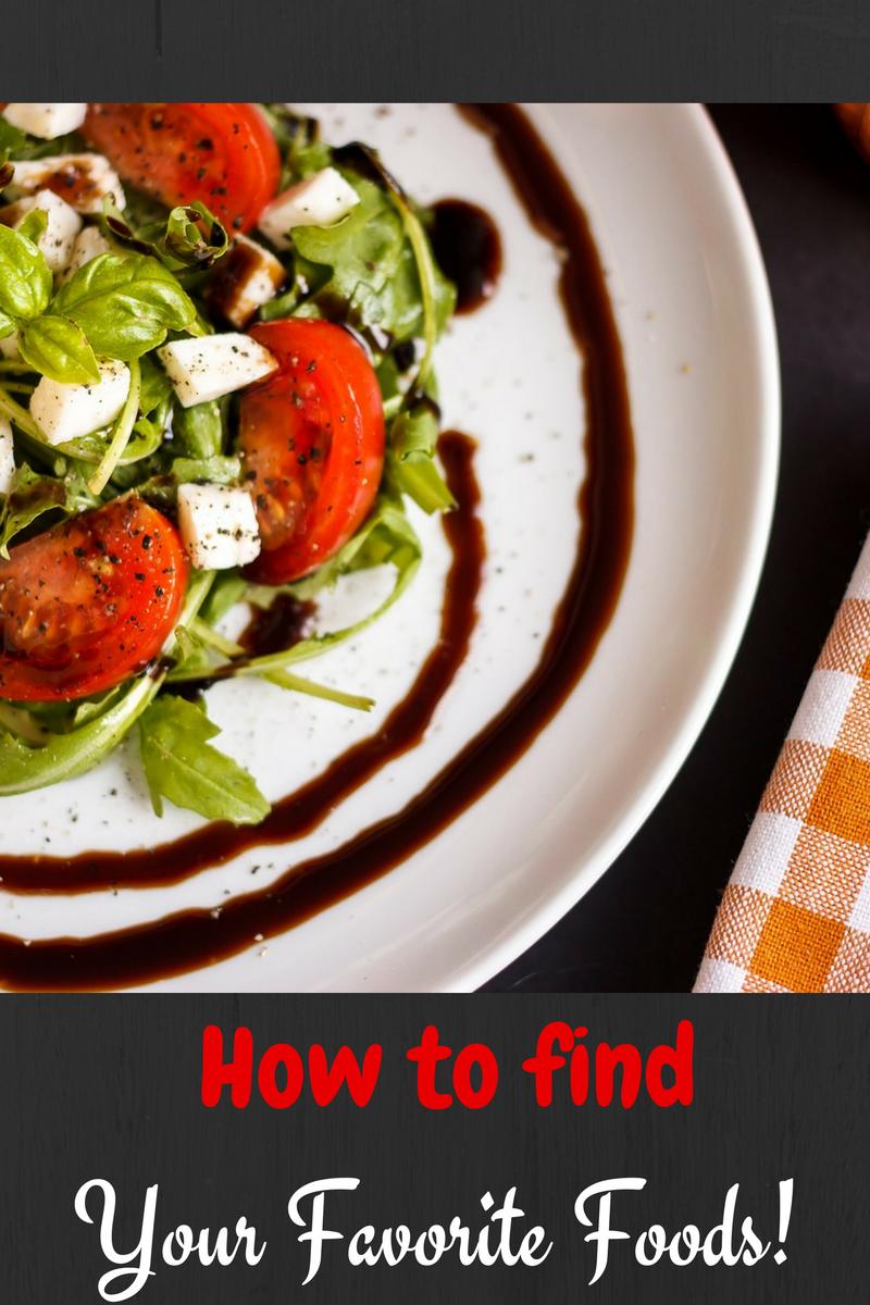 find-favorite-foods