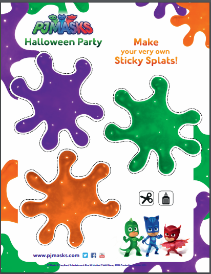 Have Halloween Fun With Pj Masks Pjhalloweenparty