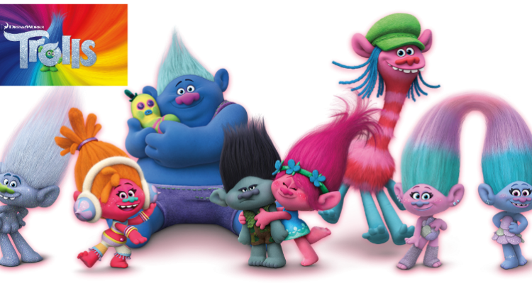 Trolls Paints the Town on Nov 4th! #DreamWorksTrolls