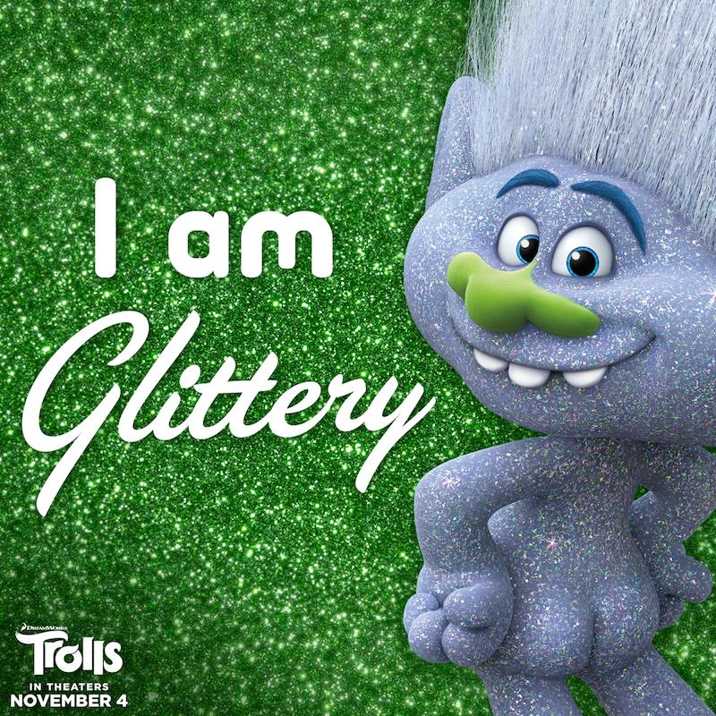 I Am Happy Quote Trolls Paints the Town...