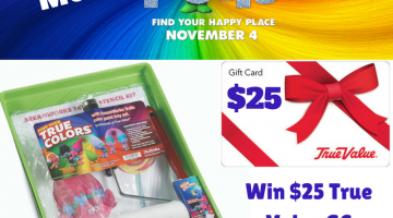 #Win #DreamWorksTrolls prize pack- $25 True Value GC and more!
