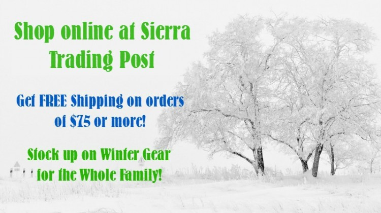 Winter is Coming! Shop #SierraTradingPost- Get Free Shipping! #TrailTime #ad
