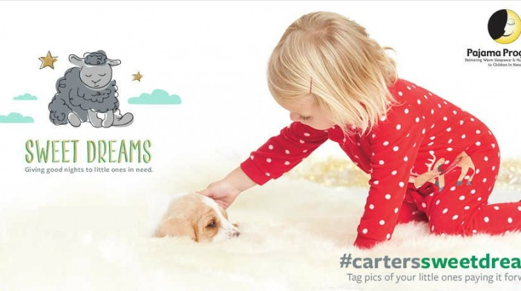 Carter's is Giving Good Nights to Little Ones in Need #carterssweetdreams #givingtuesday