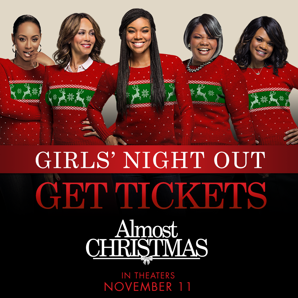 Almost Christmas arrives in Theaters November 11 #AlmostChristmas -