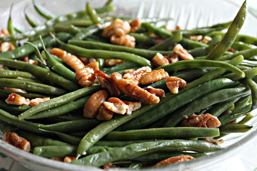 Pecan Glazed Green Beans by Intelligent Domestications