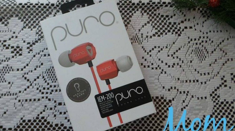 PURO Sound Headphones Provide Sound Quality and Control for Hearing Health #ChristmasMDR16