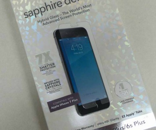 ZAGG Sapphire iPhone 7 Plus Phone Screen Cover to Protect your Investment #ChristmasMDR16