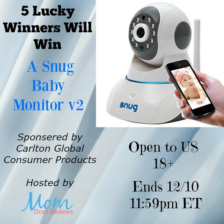 5 winners snug baby monitor v2 us only ends 12 10. Black Bedroom Furniture Sets. Home Design Ideas