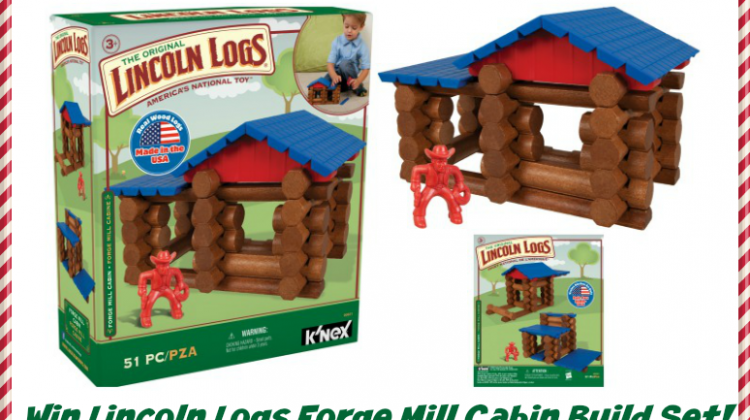 #Win Lincoln Logs Forge Mill Cabin Set US 11/25