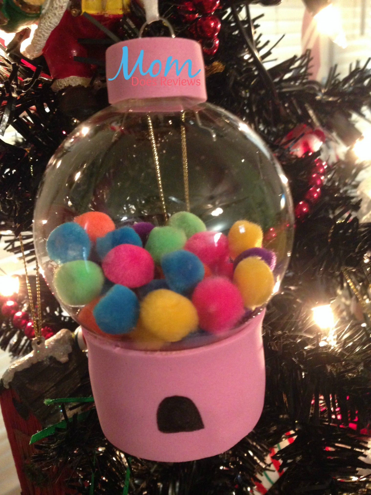Diy Gumball Machine And Cupcake Ornament How Sweet Craft