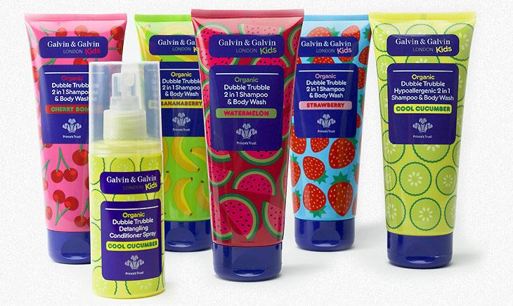 Organic Dubble Trubble 2 In 1 Shampoo And Body Wash For