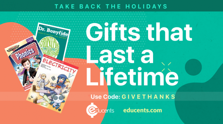 Gifts that Last a Lifetime from #Educents #ad #ChristmasMDR16