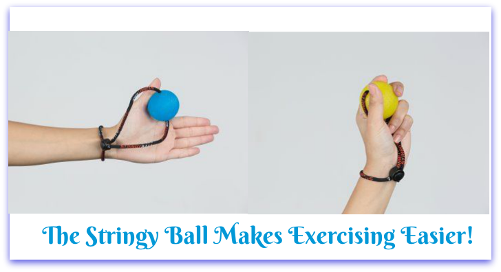 4 Reasons Why The Stringy Ball Makes Exercising Easier