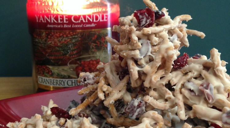 White Chocolate Cranberry Clusters #Recipe