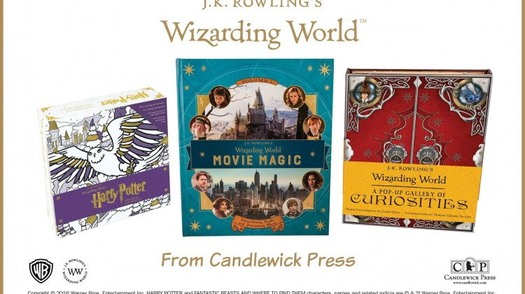Wizarding World Books By J.K. Rowling from Candlewick Press #Review #ChristmasMDR16
