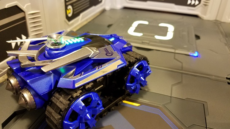 Galaxy ZEGA Brings Virtual Games to a Physical Toy #Review #ChristmasMDR16