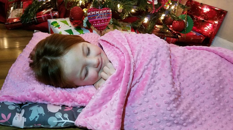 Janiebee Quilted Nap Mats Makes Nap Time Easier #Review #ChristmasMDR16