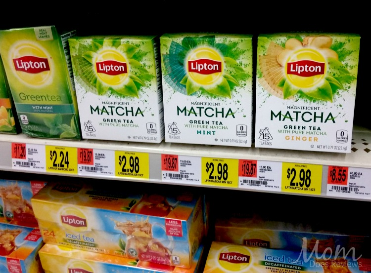 Lipton Matcha Green Tea at Walmart
