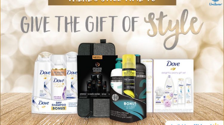 Stylish Last Minute Gifts from Unilever #MyStyleGift #ad