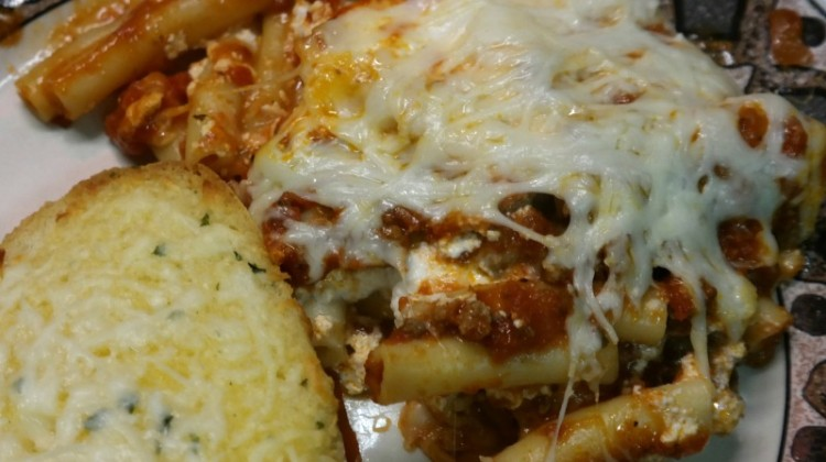 Easy Baked Ziti #Recipe