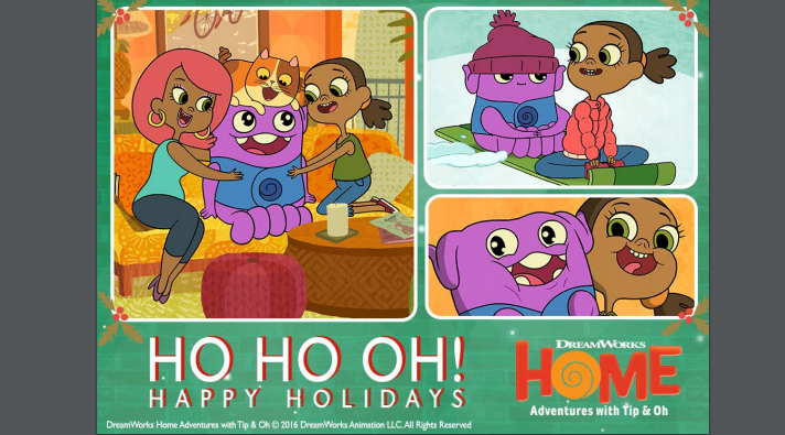 Merry Christmas from Dreamworks Animation!  Fun Printables HERE!