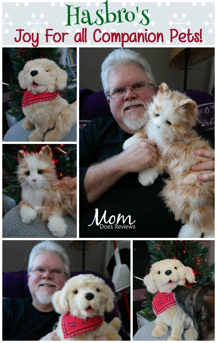 Hasbro's Joy For All Companion Pets Make Christmas Brighter