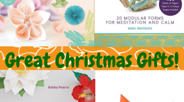 Find Peace of Mind Through the Art of Paper Folding #ChristmasMDR16 #BeIntheKnow
