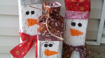 20 DIY Outdoor Christmas Decorations