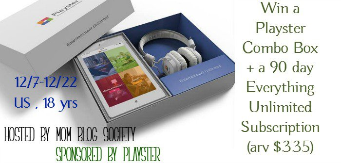 #Win a Playster Combo Box + a 90 day Everything Unlimited Subscription (arv $335) 12/22 US