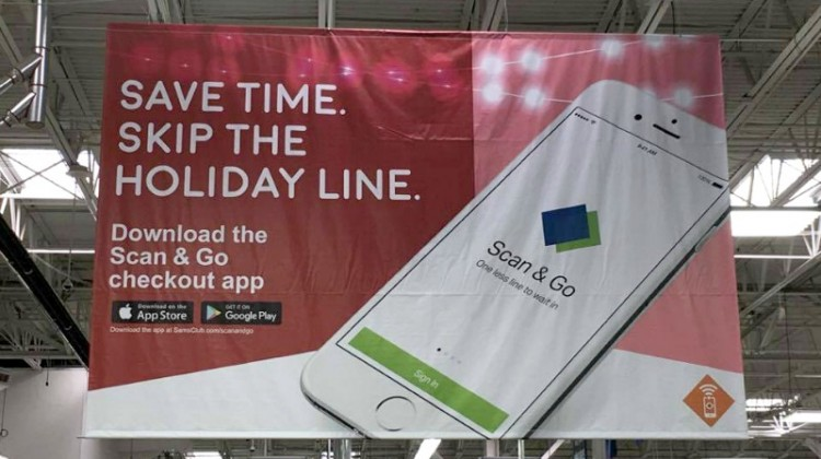 Use Scan & Go App at Sam's Club for Last Minute Shopping! #ad #ScanandGo