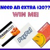 Win walmart amazon or paypal cash