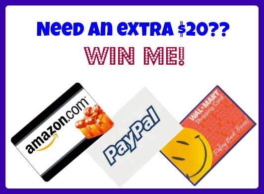 #Win $20 Walmart, Amazon or Paypal Cash! WW ends 1/5