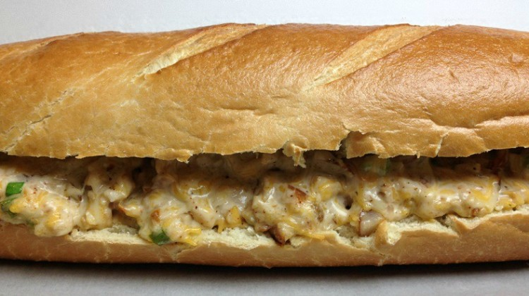 Cheesy Chicken Stuffed French Bread for an Easy Hearty Sandwich