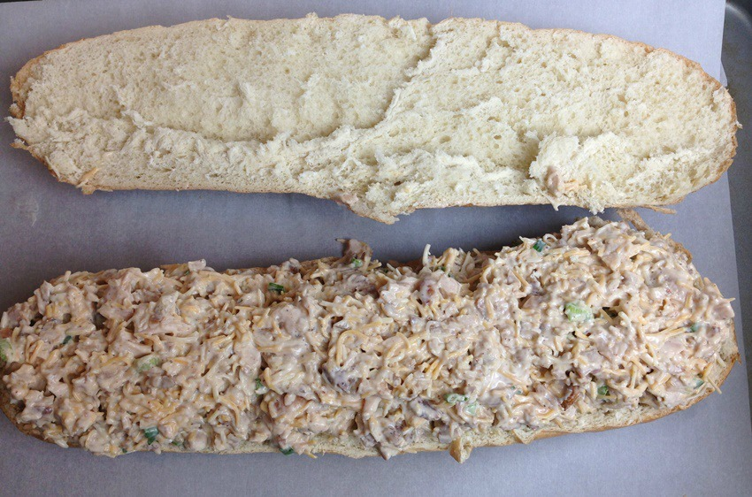 chicken-stuffed-french-bread-process-5