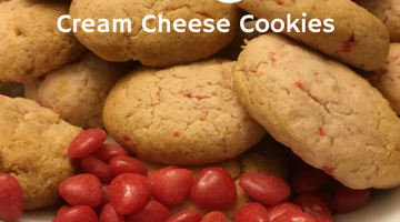 #12Daysof Valentine's Day Recipes {Day 9} Cinnamon Hearts Cream Cheese Cookies