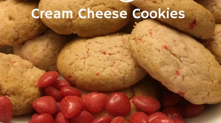 #12Daysof Valentine's Day Recipes {Day 9} Cinnamon Hearts Cream Cheese Cookies