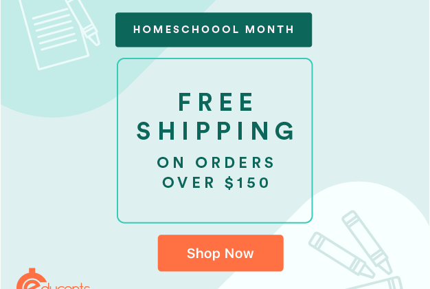 January is Homeschool Month at Educents #ad