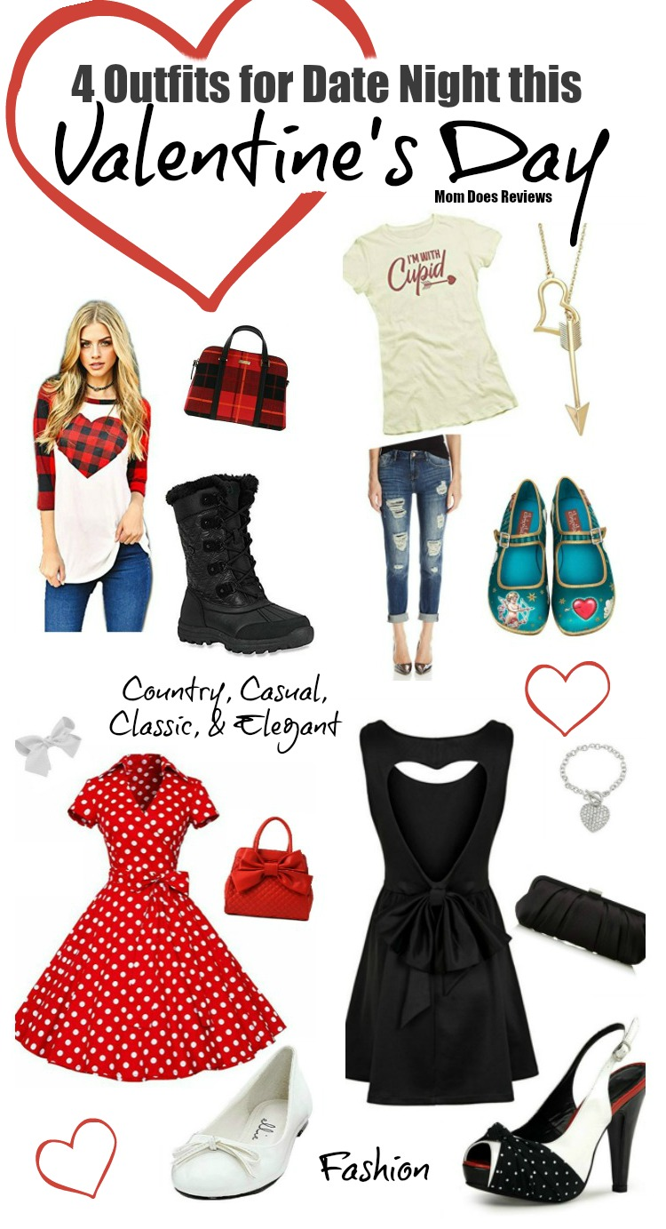 4 Date Night Outfits for Mom This Valentineu0026#39;s Day ~ Mom Does Reviews