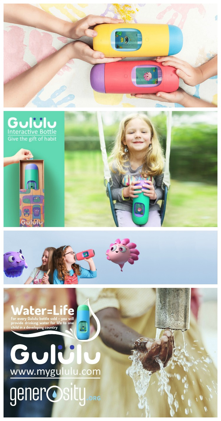 Gululu Interactive Bottle and WaterLife