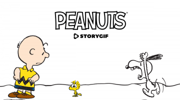 Download the Zoobe Peanuts StoryGIF App Today!