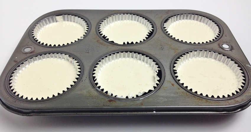 Mini Cheesecake Cups process