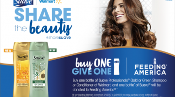 Help Give One Million Bottles of Suave This Month! #ShareSuave #Sweepstakes #ad