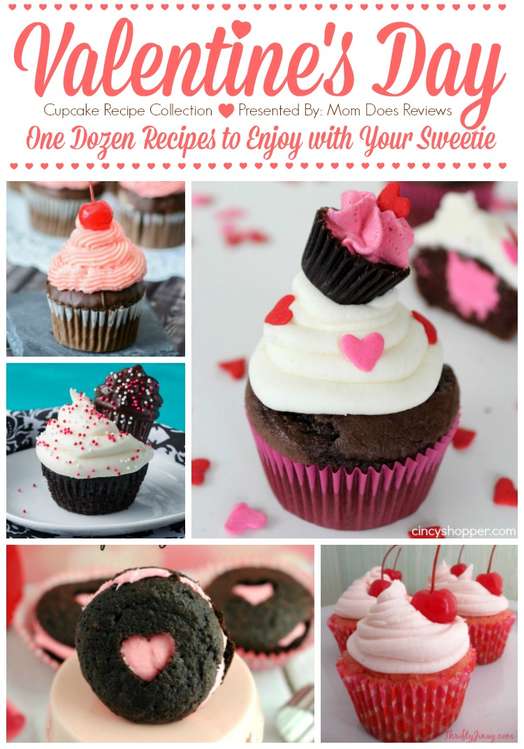 Valentine's Day Cupcake Recipe Collection