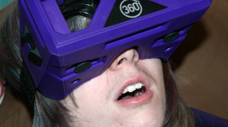 Merge Virtual Reality Goggles- Works with iPhone too! #review