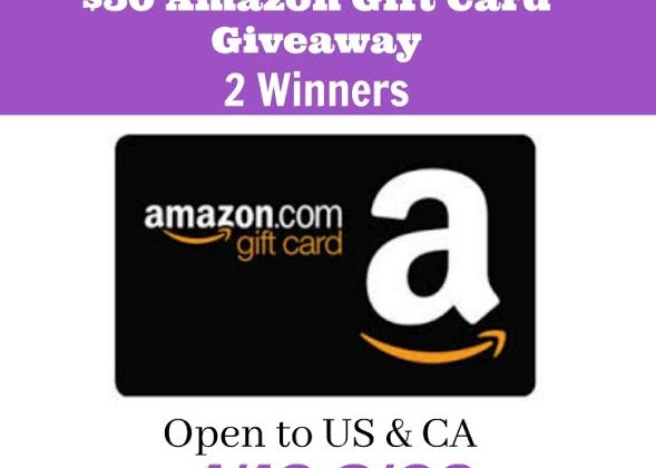 Two #Winners- $50 Amazon GCs US/CAN ends 2/6