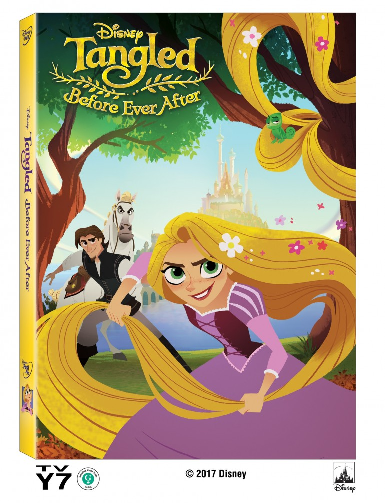 Tangled Before Ever After Coming to DVD April 11th! #Disney