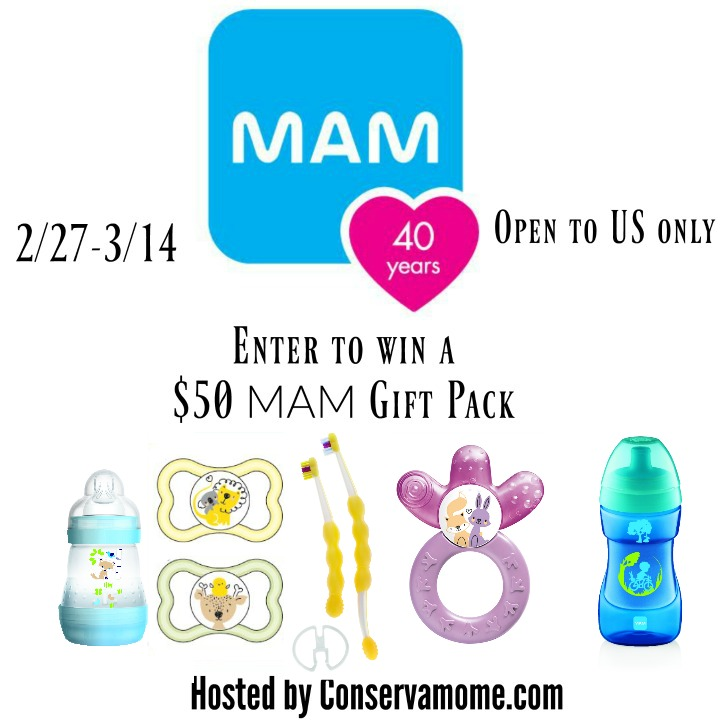 Win A 50 Mam Prize Pack Us Ends 3 14