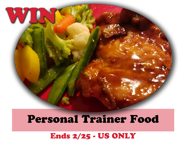 Personal Trainer Food Giveaway